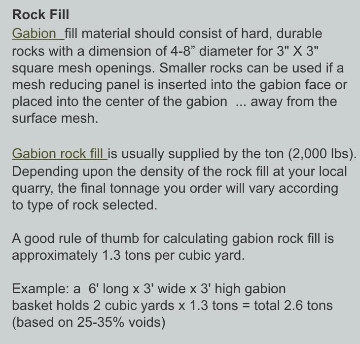 Gabion Info