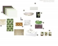 master bathroom moodboard