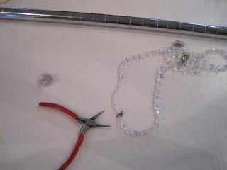 sparkly pendant