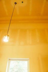 18 foot ceilings in a mudroom?!